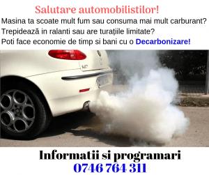 Reclama: Decarbonizare si filtre AUTO 0746764311