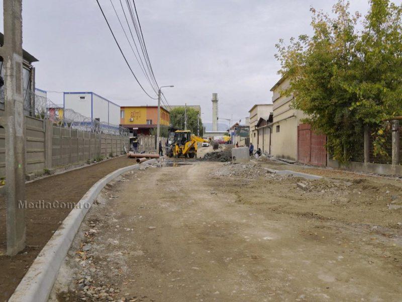 De pe santierele Turzii rand pe rand ies strazi modernizate-VIAROM lucreaza  de la intersecția străzii Fabricii cu strada 22 Decembrie 1989 până la intersecția cu strada Intrarea Negru Vodă.