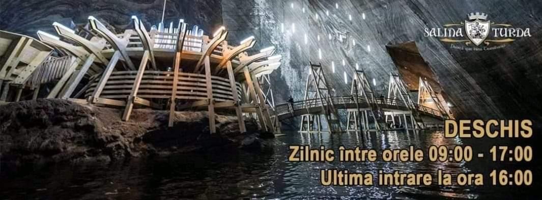 Salina Turda își modifică programul de funcționare, Salina Turda își modifică programul de funcționare, Stiri Turda - MinaDeStiri