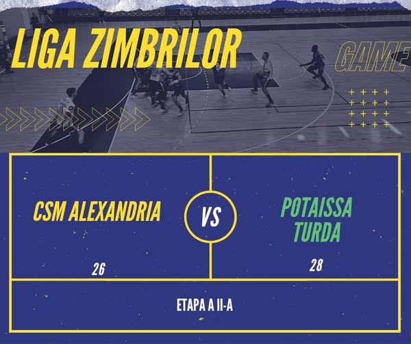 Handbal-Potaissa Turda la a doua victorie in actuala editie a Ligii Zimbrilor.