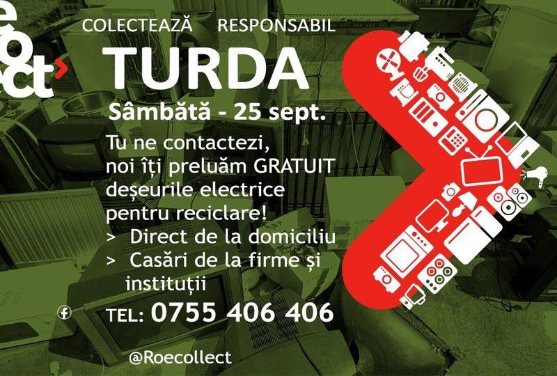 Actiune lunara de colectare a deseurilor electrice si electrocasnice ,maine,25 septembrie.